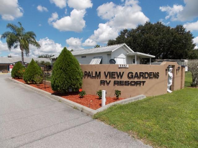 Palm View Gardens Rv Resort Homes For Sale In Zephyrhills Fl
